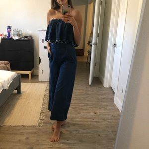 Anthropologie Pants - Anthropologie Denim Jumpsuit